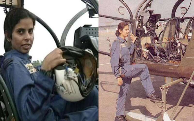 First female pilot Gunjan Saxena