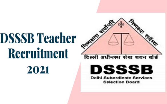 DSSSB TGT Jobs 2021